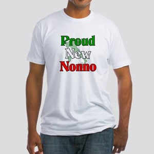 Proud New Nonno Fitted T-Shirt