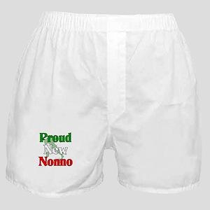 Proud New Nonno Boxer Shorts