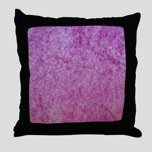 Pink tissue paper backlit Throw Pillow