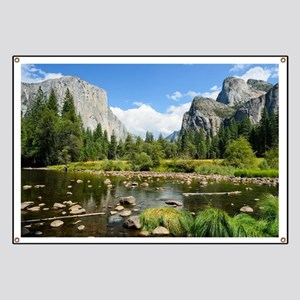 Valley View in Yosemite National Park Banner