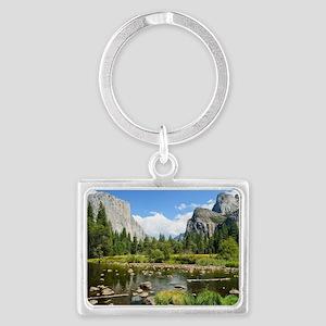 Valley View in Yosemite Nationa Landscape Keychain