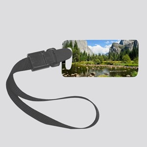 Valley View in Yosemite National Small Luggage Tag