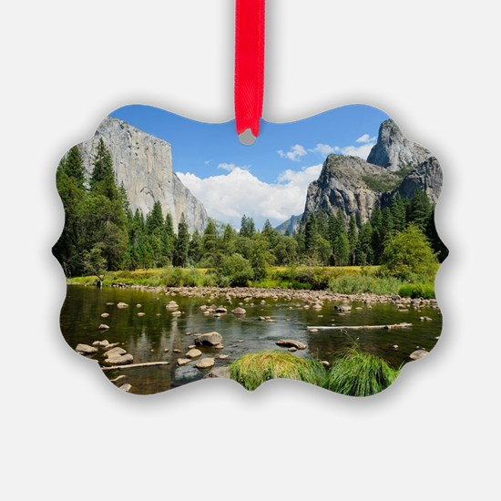 Valley View in Yosemite National  Ornament