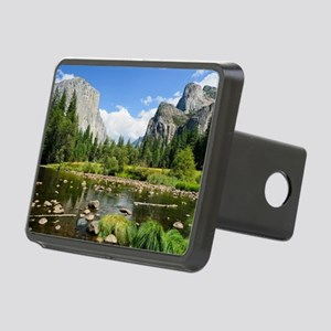Valley View in Yosemite Na Rectangular Hitch Cover