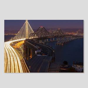 San Francisco–Oakland Bay Postcards (Package of 8)