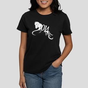 Year of the Horse 2014 Women's Dark T-Shirt