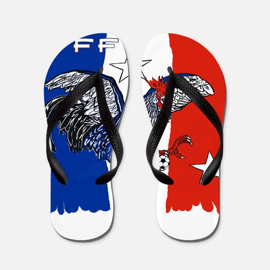 France Quest for Brazil World Cup 2014 Flip Flops