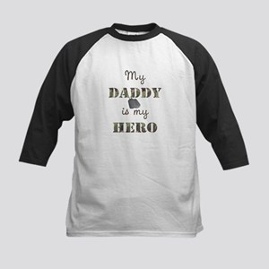 f79f5920a Daddy Hero Kids Baseball T-Shirts - CafePress