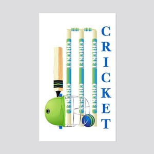 Cricket Sticker (Rectangle)