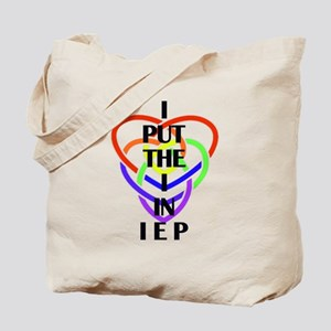 I Put the I in IEP Tote Bag