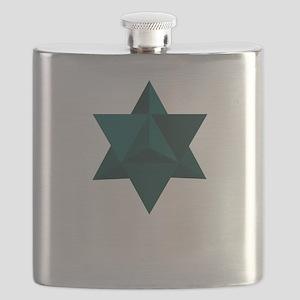 Star Tetrahedron Flask