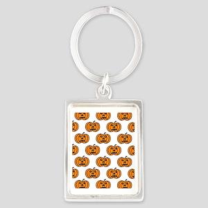 Pumpkins Portrait Keychain