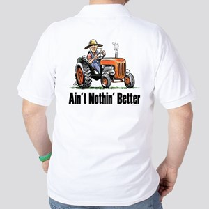 Farm Tractor Golf Shirt