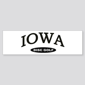 Iowa Disc Golf Sticker (Bumper)