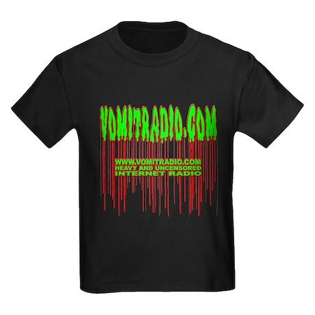 VomitRadio Kids Dark T-Shirt