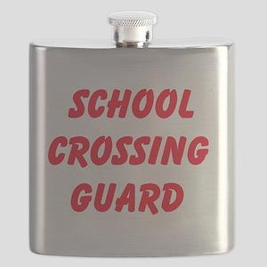 School Crossing Guard Flask