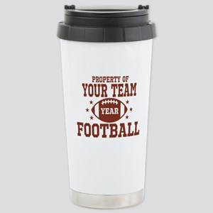 Personalized Property of Your Team Football Travel