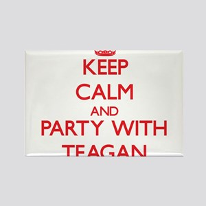 Keep Calm and Party with Teagan Magnets