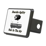 Beardie Agility: Hair In The Air Hitch Cover