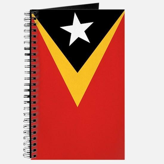 Timor-Leste Flag Journal