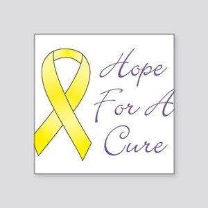 Hope For A Cure Rectangle Sticker