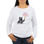 Save the Dust Bunnies! Women's Long Sleeve T-Shirt