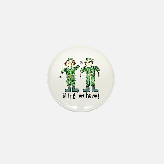 Bring 'Em Home Mini Button
