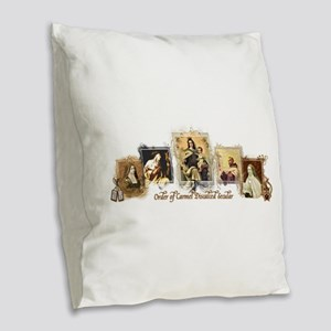 OCDS Burlap Throw Pillow
