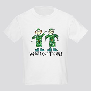 Support Our Troops Kids Light T-Shirt