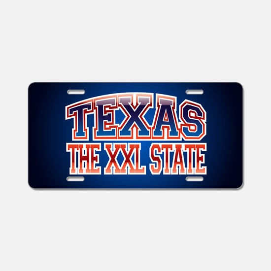 Texas XXL.png Aluminum License Plate