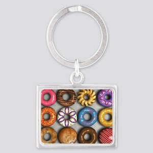 Box of Doughnuts Landscape Keychain