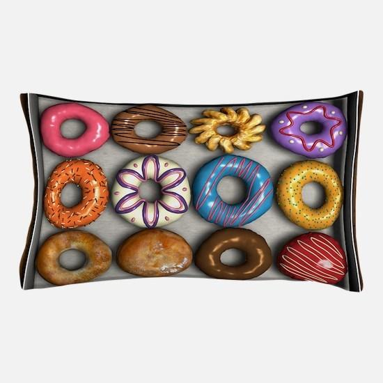 Box of Doughnuts Pillow Case