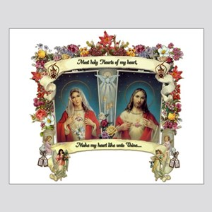 Sacred and Immaculate Hearts Posters