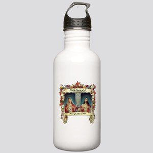 Sacred and Immaculate Hearts Water Bottle
