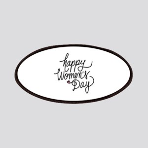 Happy Women's Day Patches