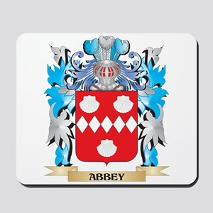 Abbey Coat Of Arms Mousepad