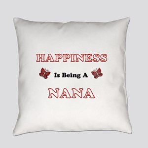 Happiness Is Being A Nana Everyday Pillow
