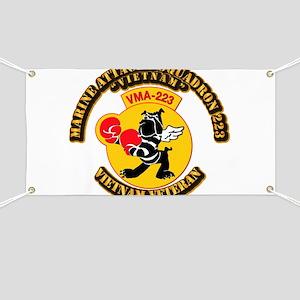 USMC - Marine Attacks Squadron 223 Banner