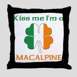 MacAlpine Family Throw Pillow