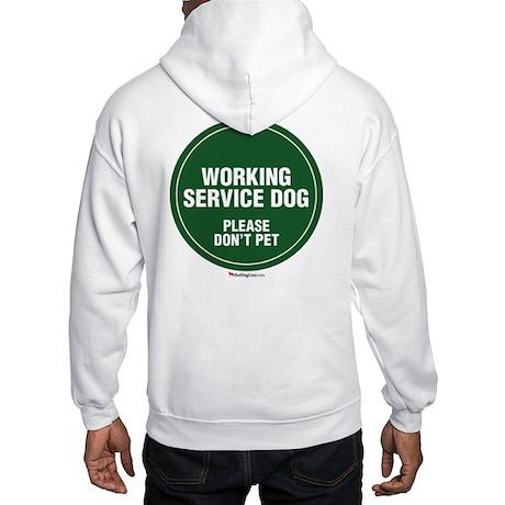 Working Service Dog Hooded Sweatshirt