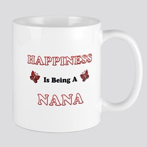 Happiness Is Being A Nana Mugs