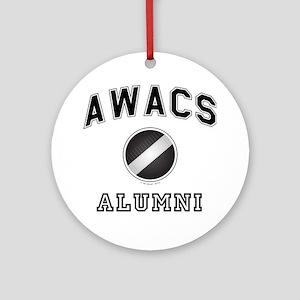 AWACS Alumni Round Ornament