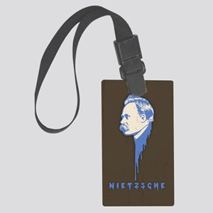 nietz-drip-CRD Large Luggage Tag