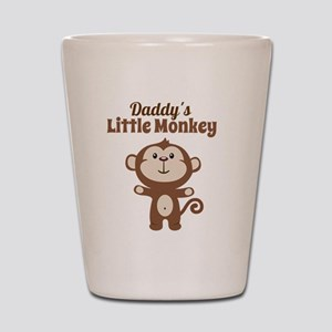 Daddys Little Monkey Shot Glass