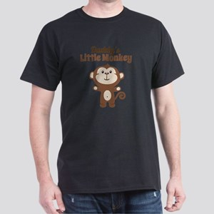 Daddys Little Monkey Dark T-Shirt