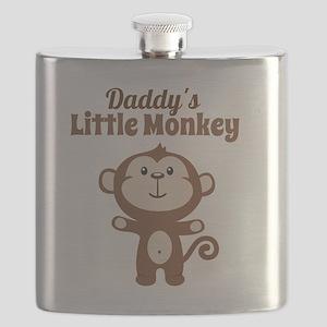 Daddys Little Monkey Flask