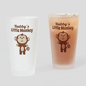 Bubbys Little Monkey Drinking Glass