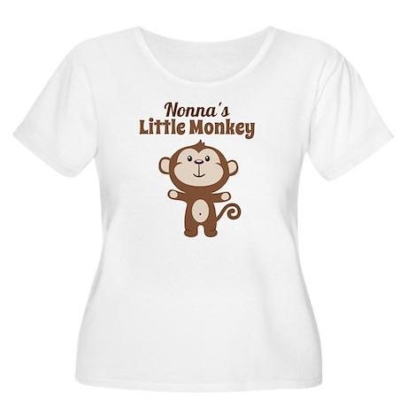 Nonnas Little Women's Plus Size Scoop Neck T-Shirt
