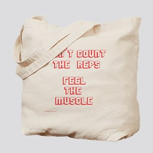 Don't Count the Reps Tote Bag