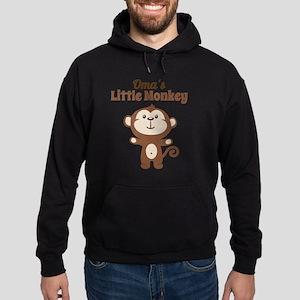 Omas Little Monkey Hoodie (dark)